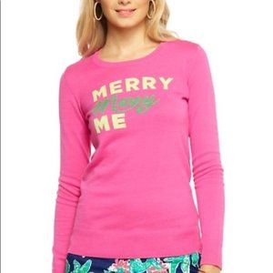 Lilly Pulitzer Merry Me Marielle Christmas Sweater